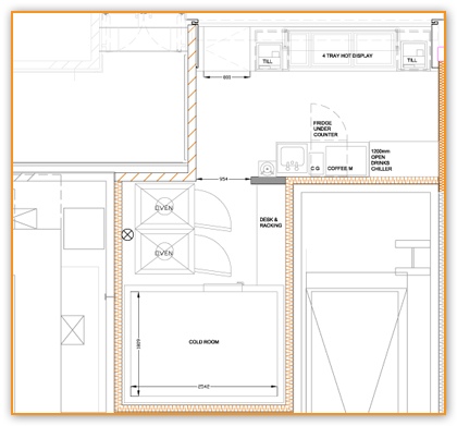 Design & planning layouts and equipment